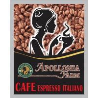 Apollonia Farm Cafe Espresso Italiano 100% Arabica EXCLUSIVE